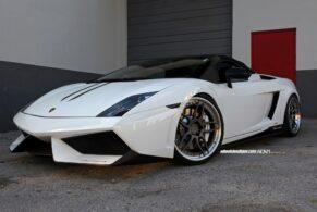 Lamborghini Performante on ADV005 Track Spec
