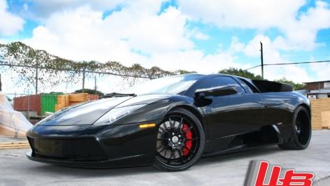Lamborghini Murcielago on HRE 593R's