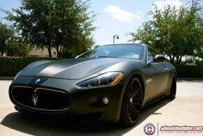 Maserati GranTurismo on HRE S104