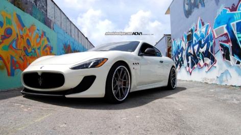 Maserati GranTurismo on ADV5.0 Deep Concave