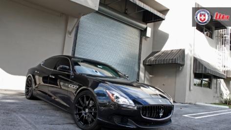 Maserati Quattroporte on HRE P43SC