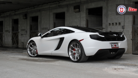 McLaren MP4-12C on HRE P101