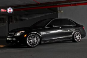 Mercedes C63 on HRE P40SC