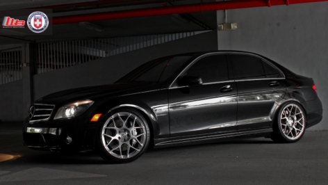 Mercedes C63 on HRE P40SC