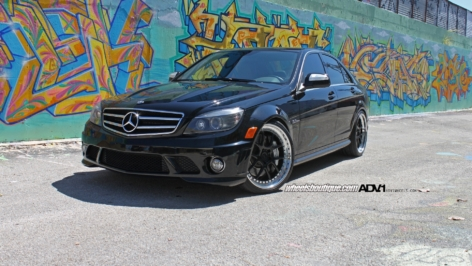Mercedes Benz C63 on ADV5.0 Track Function