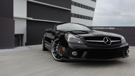 Mercedes SL63 AMG on ADV10 Deep Concave