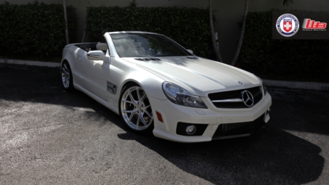 Mercedes SL63 AMG on HRE P101
