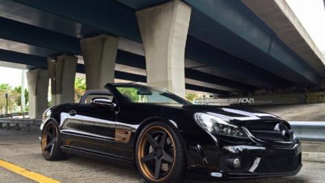 Mercedes SL63 on ADV5 TrackSpec