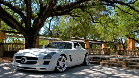 Mercedes SLS AMG fit for a Yacht on ADV05 TS SL