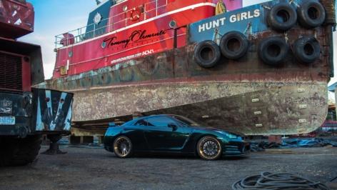 GT-R on ADV15 Track Spec