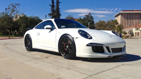 Porsche 991 on HRE C103