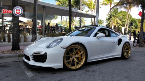Porsche 991 Turbo S on HRE S101