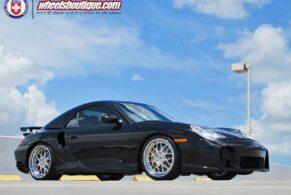 Porsche 996 Turbo on HRE 560C