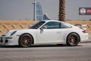 Porsche 997 C4S on HRE P40SC