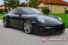 Porsche 997 Turbo on HRE P47SC
