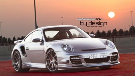 Porsche 997TT on ADV6.0 from ByDesign