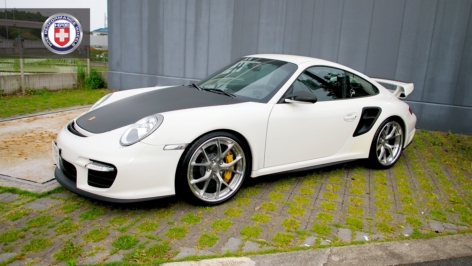 Porsche 997 GT2RS on HRE S101