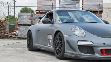 Porsche 997 GT3RS on HRE R40