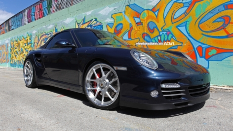 Porsche Turbo on ADV5.0 Deep Concave Centerlock