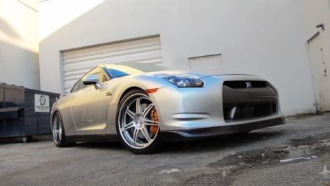 Nissan GT-R on HRE 591R