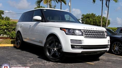 Range Rover on HRE TR45