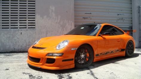 Porsche 997 GT3RS on HRE P40S
