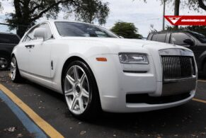 Rolls Royce Ghost on Vorsteiner 701 Wheels