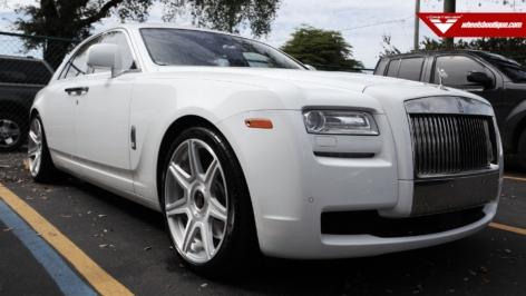 Rolls Royce Ghost on Vorsteiner 701 Wheels