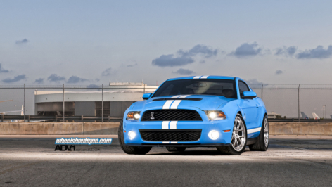 Fishs' 700 HP SHELBY GT500 on ADV5.0 Track Spec