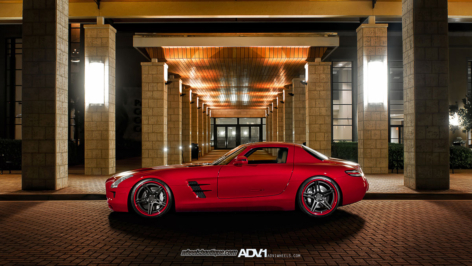 Mercedes-Benz SLS AMG on ADV05 Track Spec