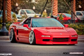 Stanced out NSX on ADV05 Deep