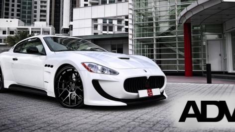 Maserati GranTurismo on ADV7
