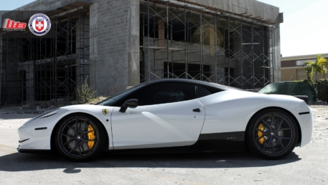 Ferrari 458 – TK – on HRE P101