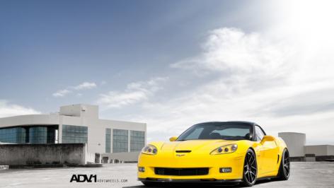 Velocity Yellow C6Z06 on ADV5.0 Track Spec