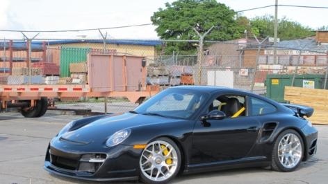 2012 Carbon Fiber Porsche 997 Turbo on HRE P40S Conicals