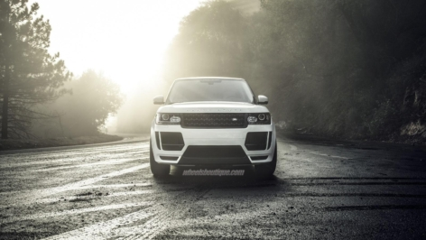 Range Rover With VRS Kit