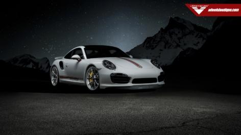 VRS Porsche 991 Turbo S on VSE-004 Centerlock