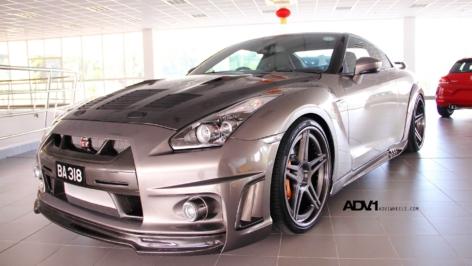 WALD Nissan GTR on ADV05 DeeP Concave