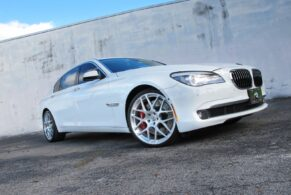 BMW 750Li on HRE P40L
