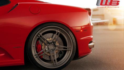 Ferrari F430 on ADV5.1 SL