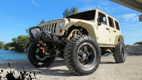 Wheels Boutique Jeep Wrangler on 20″ HRE 567R