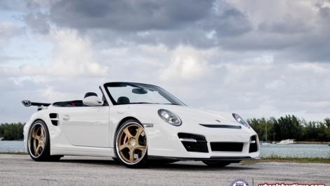 Porsche 997.2TT on HRE 792RS | VRT | Brembo