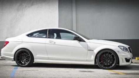 HRE P43SC Wheels on Mercedes C63 AMG