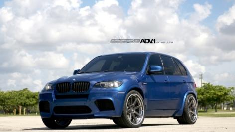 X5M on 22″ ADV08 Track Spec