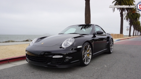 Porsche 997 Turbo on HRE P101