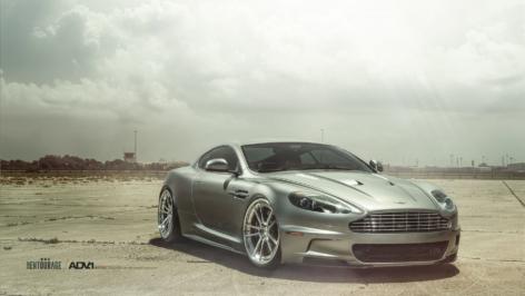 Aston Martin DBS on ADV5.2 Track Spec CS