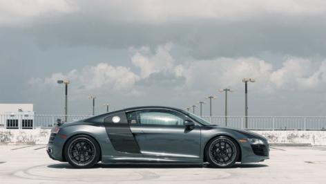 Audi R8 V10 on ADV5.0 Track Spec SL