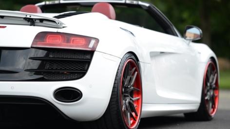 Audi R8 on ADV7 TS CS