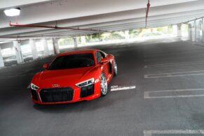 Audi R8 V10 (2017) on ADV05C Track Spec CS