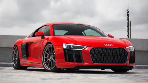 Audi R8 V10 (2017) on ADV10 Track Spec CS